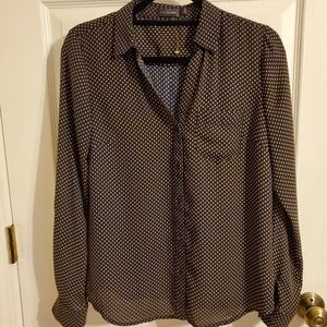 The Limited polka dot blouse